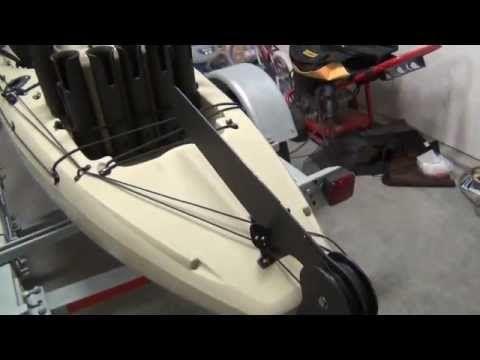Homemade Fixed, Retractable Kayak Rudder (Skeg) Part 3 | DIY