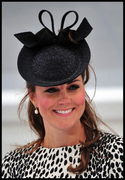 08b431a03f24c Kate Middleton Hats. Cate attends the Princess Cruise ship naming ceremony  in Southampton on June 13