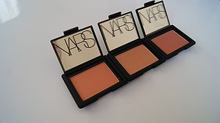 NARS blush review-Gina, Lustre and Unlawful