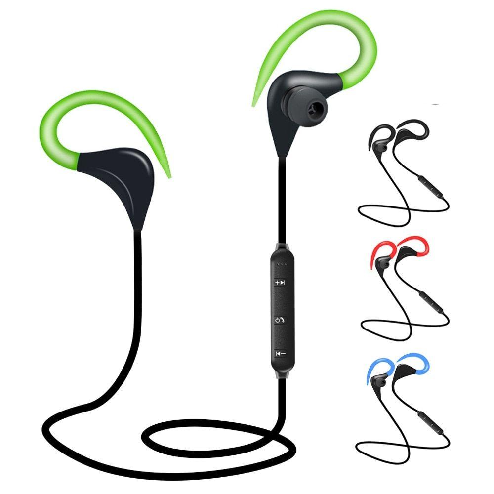 Bluetooth Sports Earphones With Ear Hook Bluetooth Earphones Bluetooth Earbuds Wireless Wireless Earphones