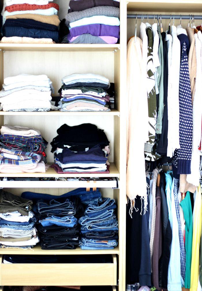 Kleiderschrank aufräumen Tipps