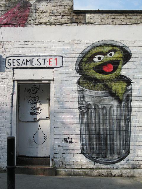 Blam Art De Rue Art De Trottoir 3d Street Art