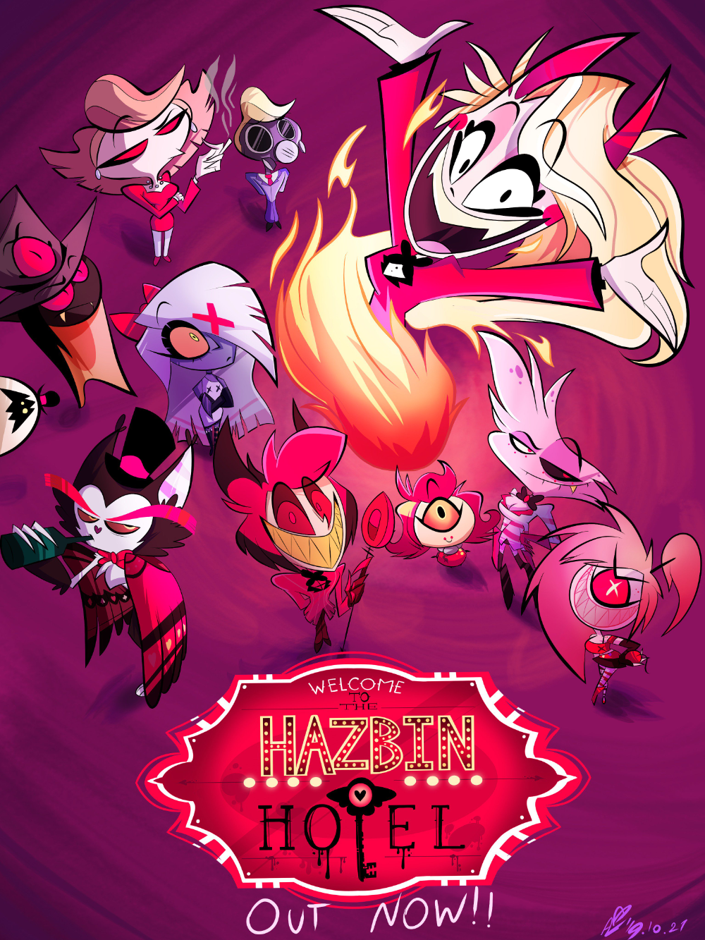Areg S. on in 2020 Anime sketch, Anime, Vivziepop hazbin