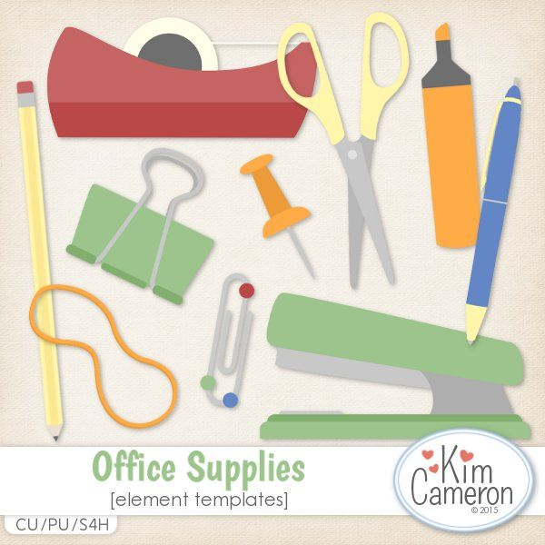 Office Supplies Templates by Kim Cameron Supplies, Template and By - office supply template