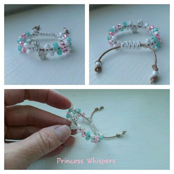 Princes Whipsers  Baby Girl Handmade Beaded by BeadedWhispers