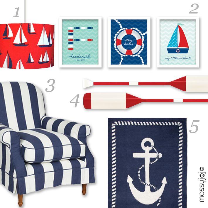 nautical carpet |  lamp 2 art prints set of 3 3 laura ashley