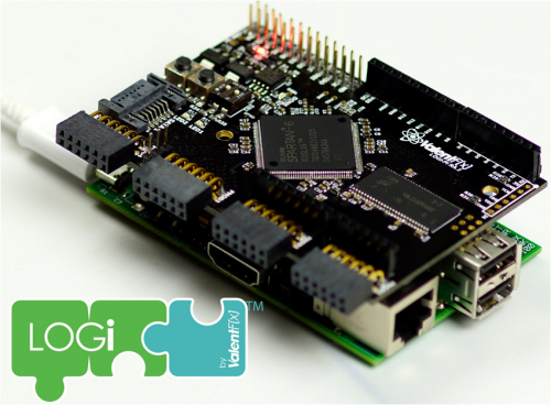LOGI - LOGI-PI-2 - Silicon Manufacturer:Xilinx   Raspberry pi