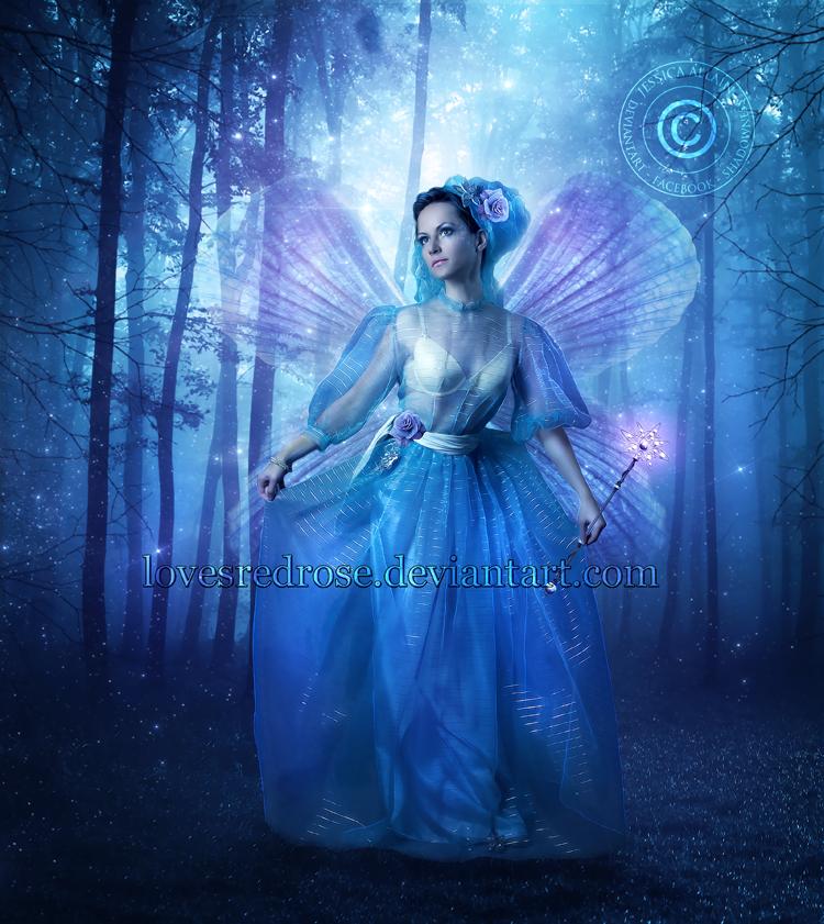 Fairy Godmother By Enchantedwhispersart On Deviantart Fairy