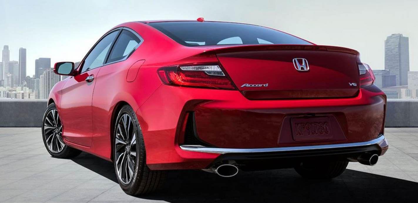 Honda Coupe 2017 >> 2017 Honda Accord Coupe Rear View Honda Accord Honda