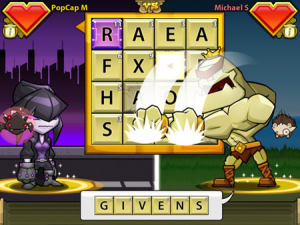 PopCap Games Launches Bookworm Heroes for iPad and iPhone