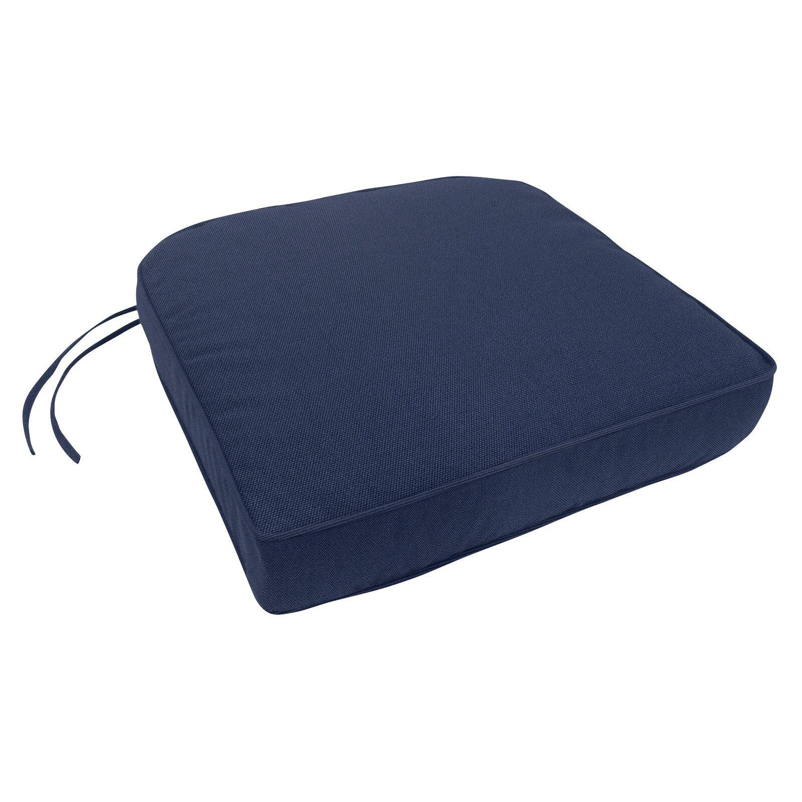 DoublePiped Indoor/Outdoor Sunbrella Contour Chair