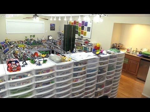 Behind The Scenes Lego Room Tour Youtube Lego Room Room Tour Big Lego
