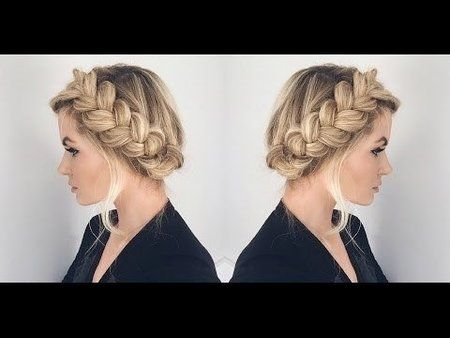 How To Create A Halo Hairstyle Hair Styles Long Hair Styles Braided Hairstyles