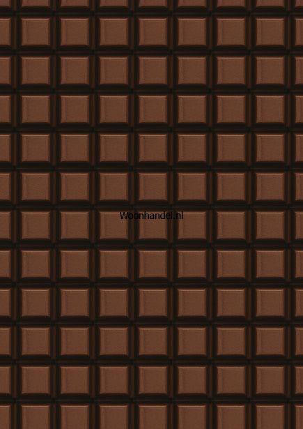 wp-027 Chocolade Reep Behang KEK Amsterdam - Woonhandel
