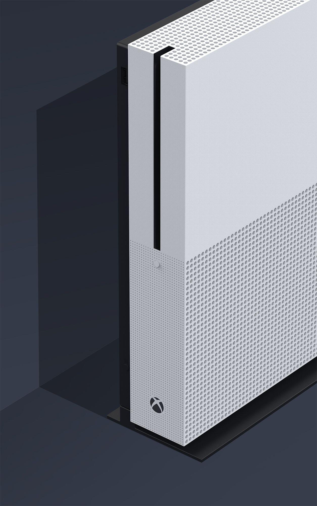 Xbox One S l Xbox design team Works Pinterest Xbox