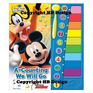 Playhouse Disney Mickey Mouse Clubhouse A Counting We
