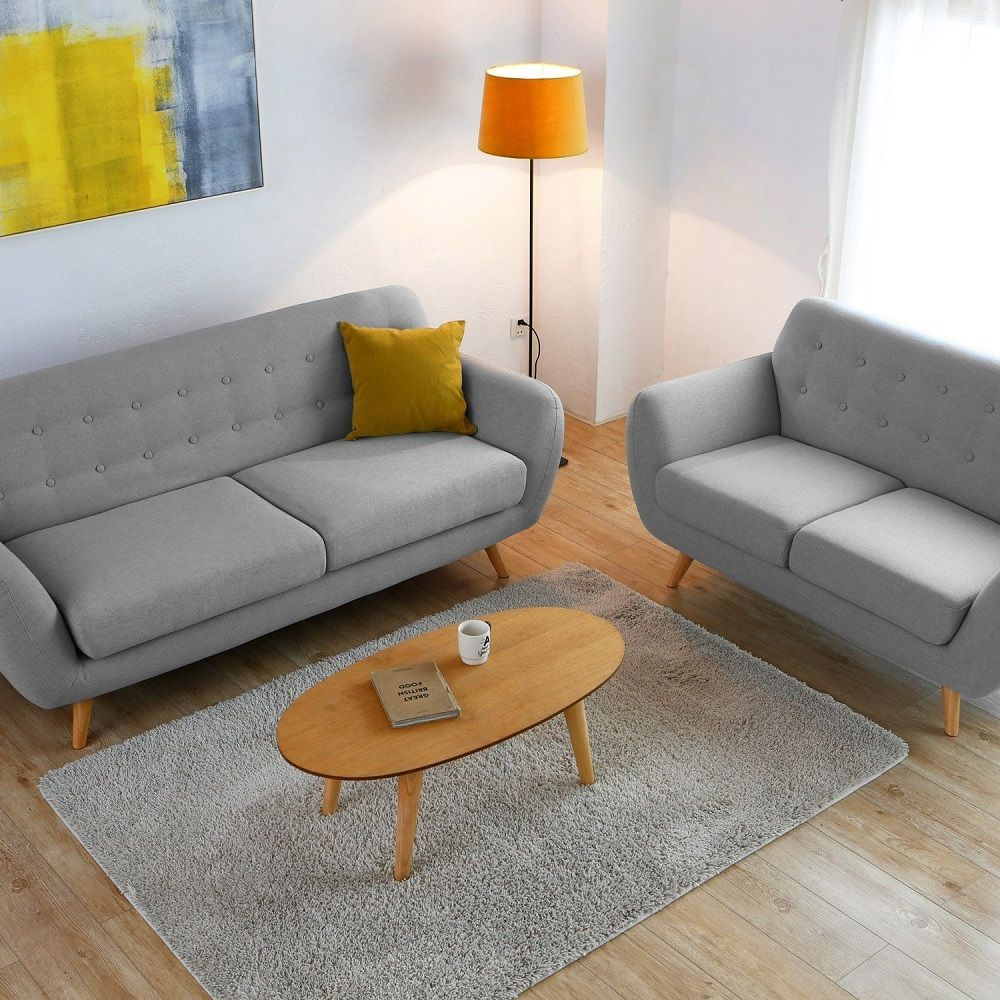 Concept Usine Helsinki 5p Canapes Scandinaves 2 3 Places Pas