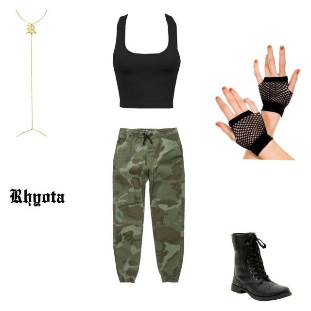 """Rhyota"" by keyra-crowe on Polyvore featuring Brooklyn Cloth and Eklexic"