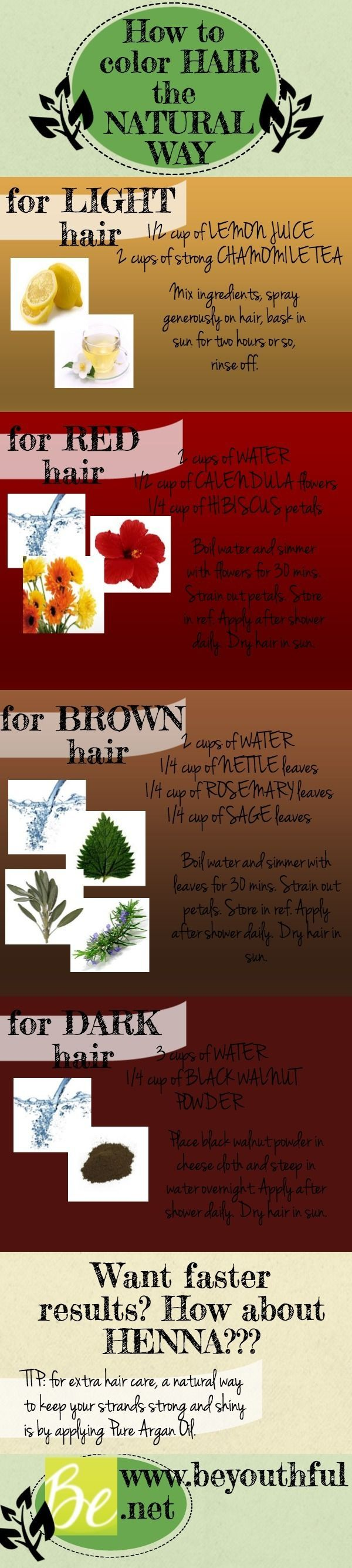 How To Dye Hair Naturally New Year New Hair Color New And Natural