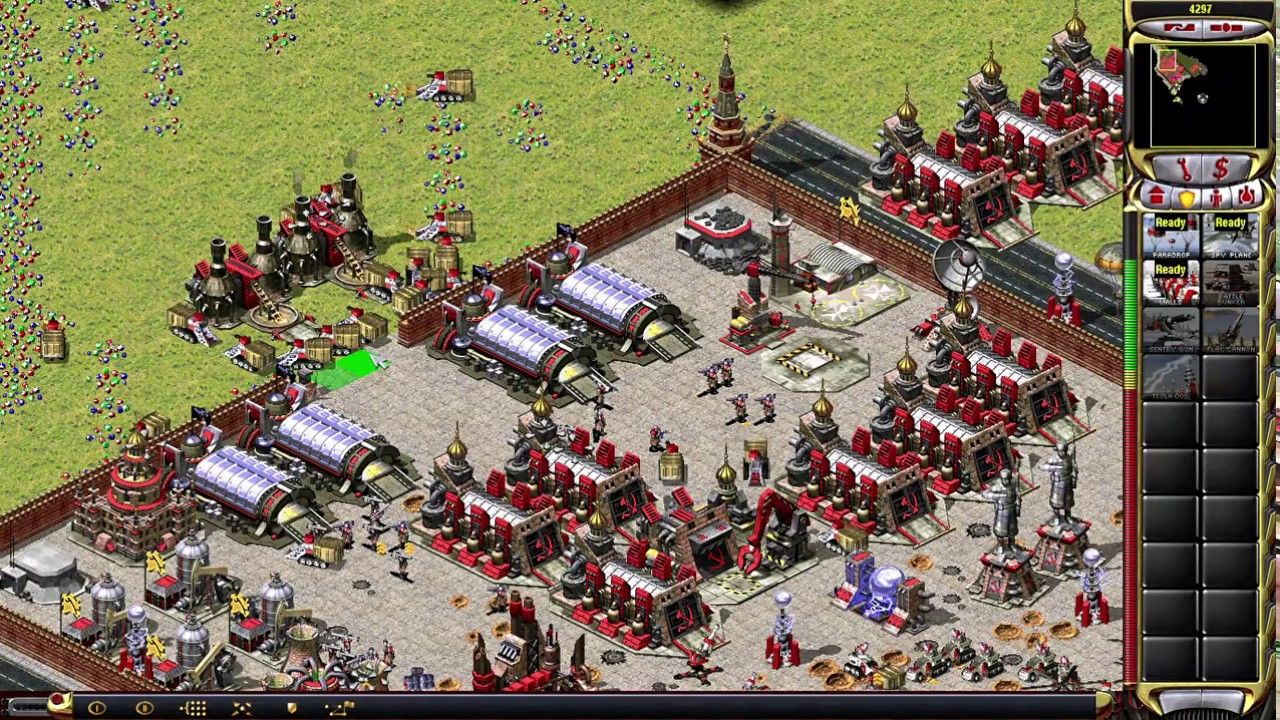 Yuri S Revenge Command And Conquer Red Alert 2 Skirmish Gameplay Youtube In 2020 Command And Conquer Revenge Conquer