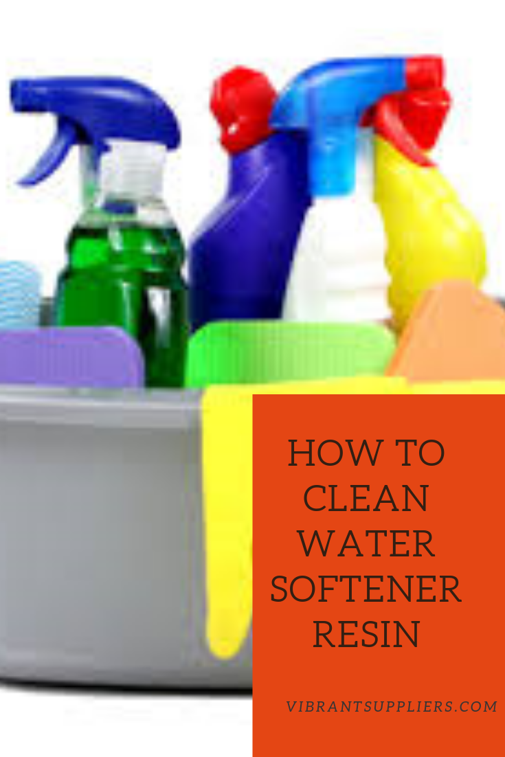 Step By Step Guide How To Clean Water Softener Resin Water Softener Water Softener Salt Cleaning