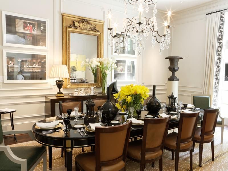 beautiful elegant formal dining room #Diningroomideas Dining room
