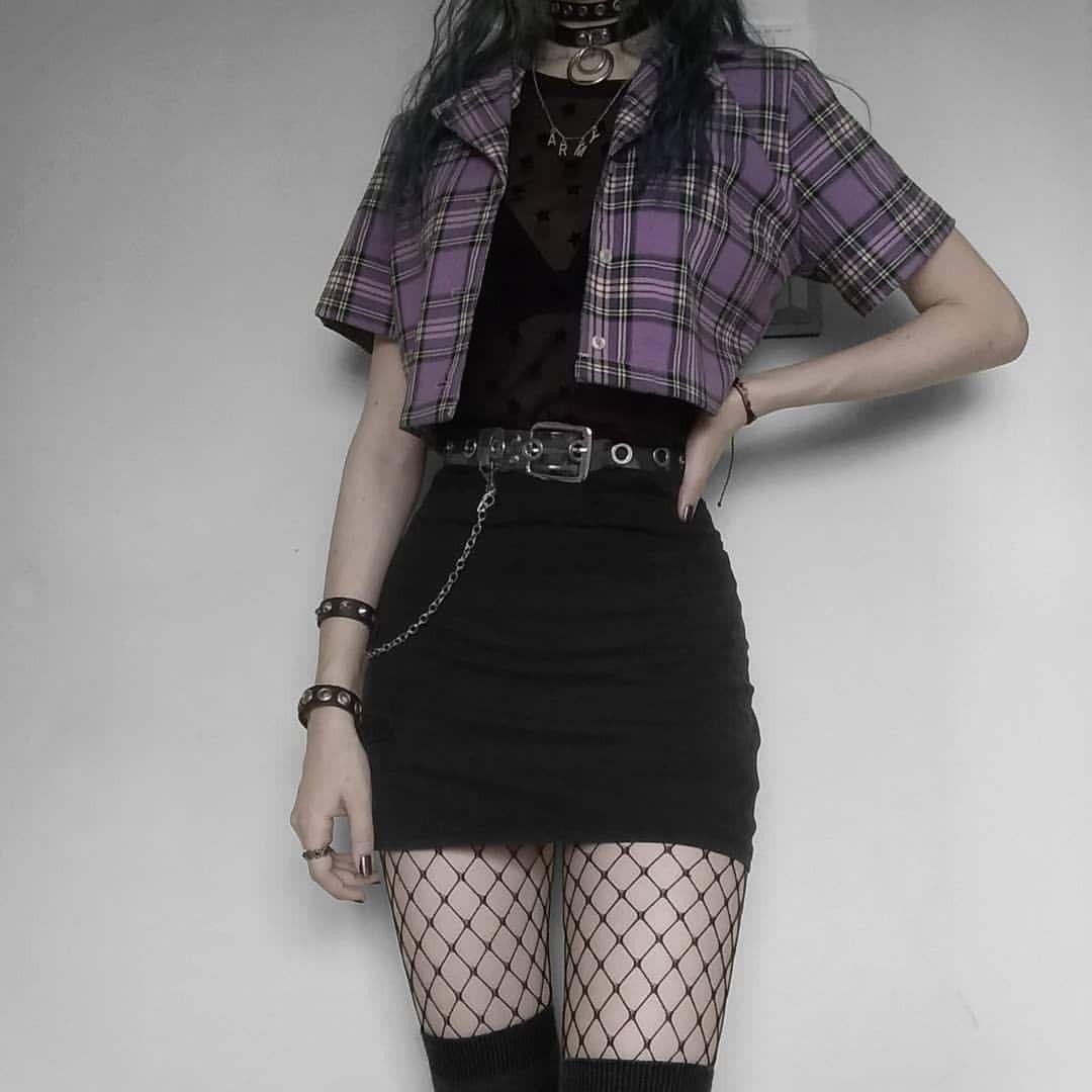 Egirl Tumblr Grunge Fashion Grungefashion Emofashion Black White Cool Softgrunge Soft Palegrunge G In 2020 Aesthetic Clothes Fashion Fashion Inspo Outfits