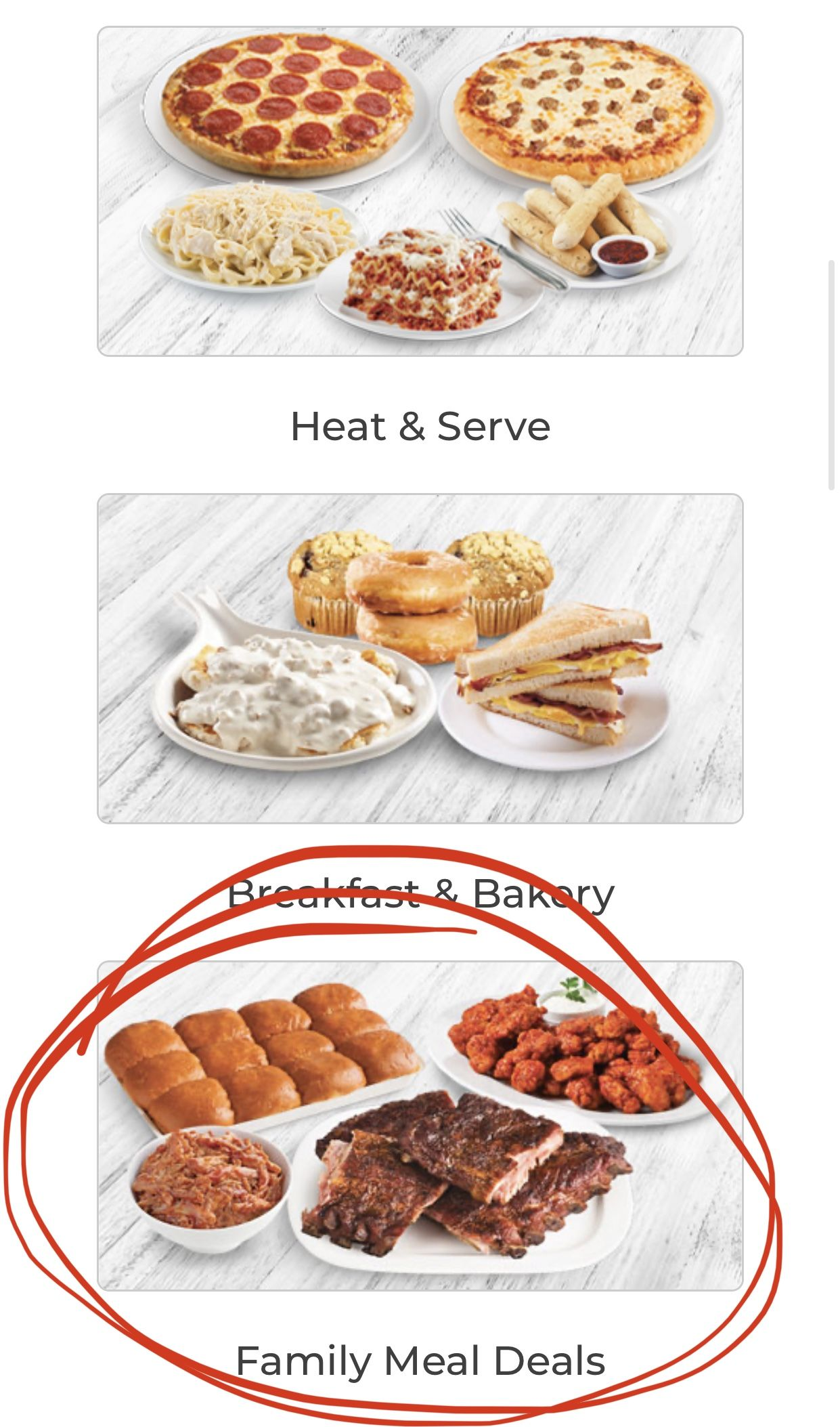 Family meal deals in 2020 affordable food meal deal