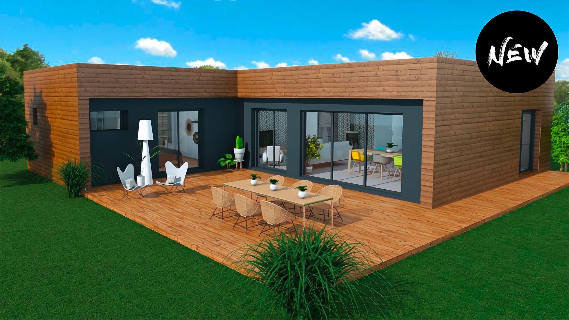 Tiny House Prix M2 inspiration wool | maison ossature bois, maison bois, plan