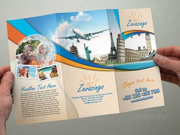 holiday brochures template Google Search – Tourism Brochure Template