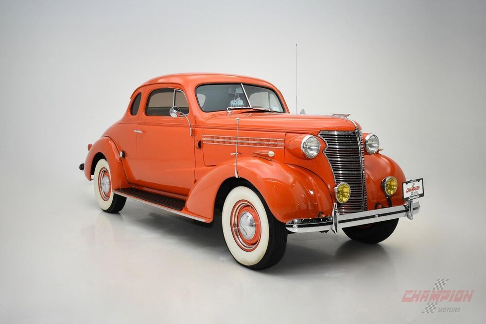 1938 Master Deluxe Street Rod Chevrolet, Classic motors