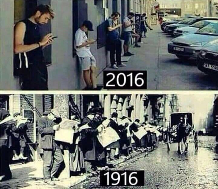 The world is the same. All that has changed is how we do what we do.