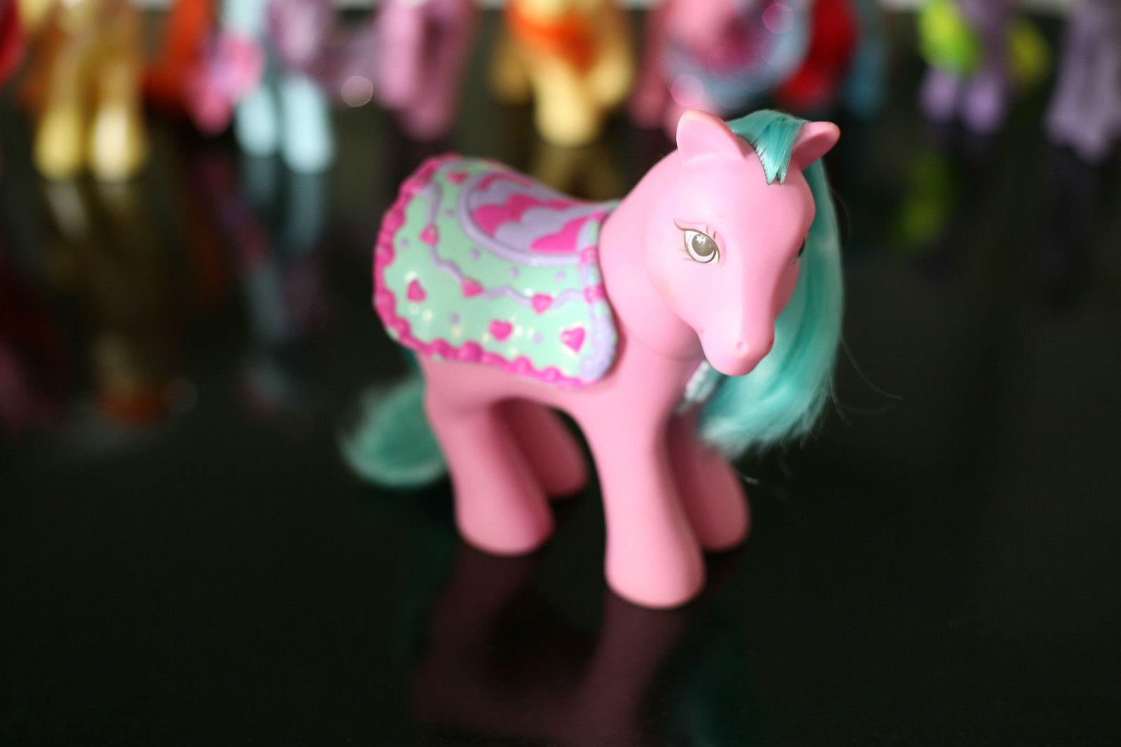 My Little Pony selle. 1980 S rose
