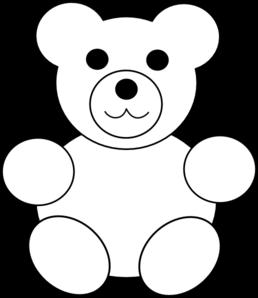 Bear Template Clip Art Teddy Bear Coloring Pages Teddy Bear Template Teddy Bear Crafts