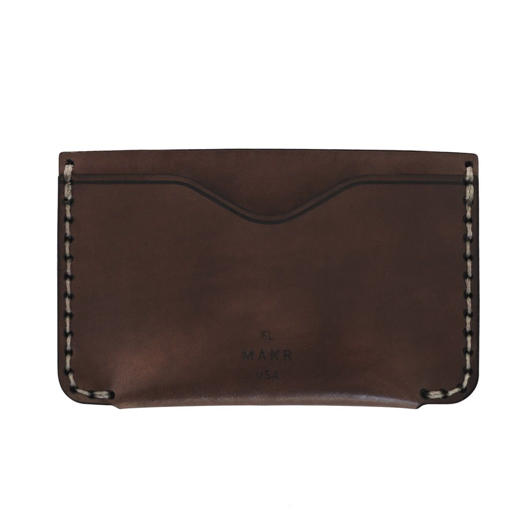 MAKR - Cordovan Horizon Two Wallet - Made in USA