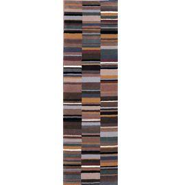 Runner Multi Brown Kaleidoscope Rug