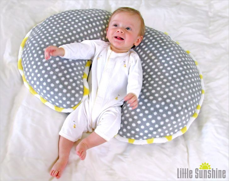 Little Sunshine Support Pillow for Nursing & More | Sew4Home ...
