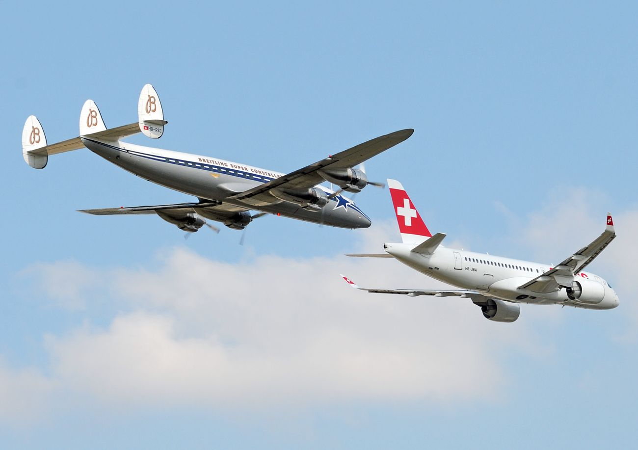 Bombardier CSeries CS100 (BD-500-1A10) - Swiss International Air Lines | Aviation Photo #3876483 | Airliners.net