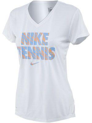 Nike Women S Summer 1 Tennis V Neck Top Nike Women Summer Women V Neck Tops