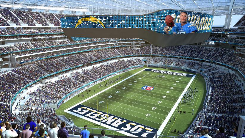 Chargers La Stadium Google Search Los Angeles Chargers Stadium Nfl Stadiums