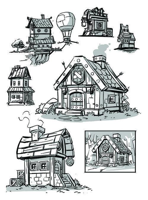 Environmental Designs Derek Laufman Environmental Design Character Design Sketches Character Design