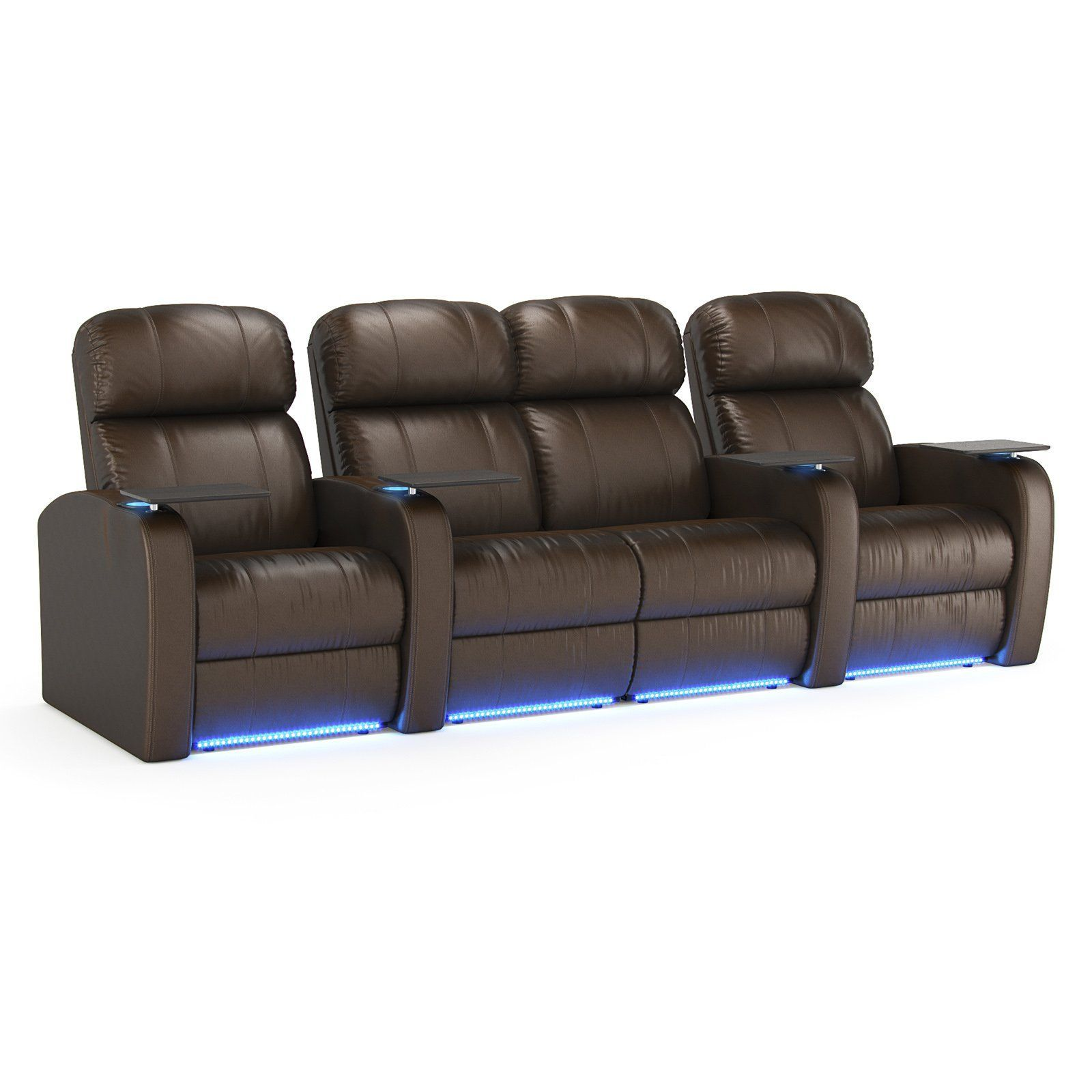 Octane Diesel Xs950 4 Seater Middle Loveseat Home Theater Seating Wiring A Room R4slp Lm Bl