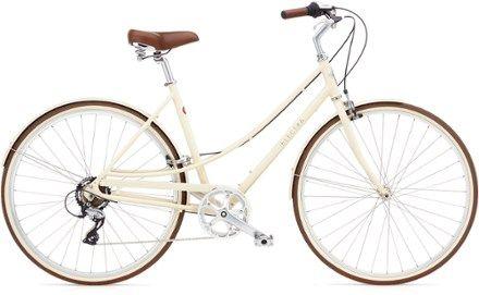 a lightweight commuter bike inspired by the stylish european bike scene the loft features minimalist