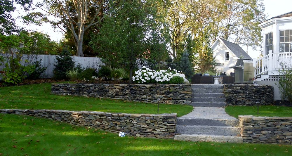 Two Tier Retaining Wall