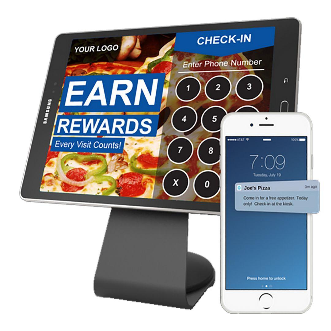 Loyalty Platform w/ NFC Kiosk, NFC, Geofencing, Text