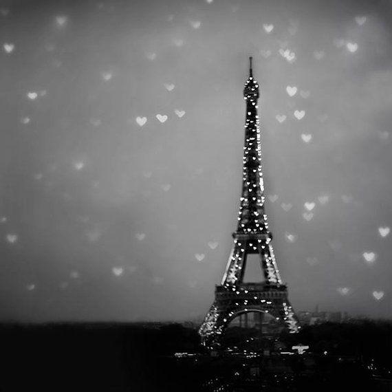 Paris Photography Print Eiffel Tower heart Valentine by Raceytay, $50.00  #ShareTheLove
