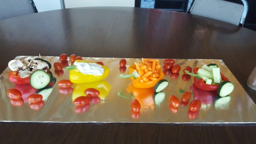 Veggie Train for the staff lunch.