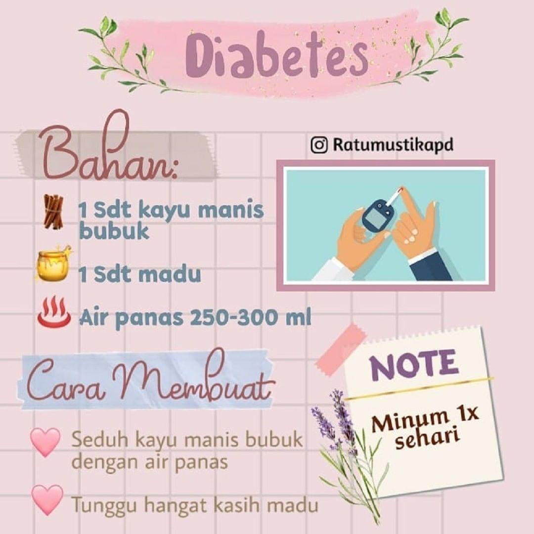 Sehat Berkah On Instagram Bismillaah Resep Diabetes Buat Yang Nunggu2 Dari Kemarin Resep Jsr Buat Diabet Ini Nih Udah Ad Resep Diabetes Diabetes Resep