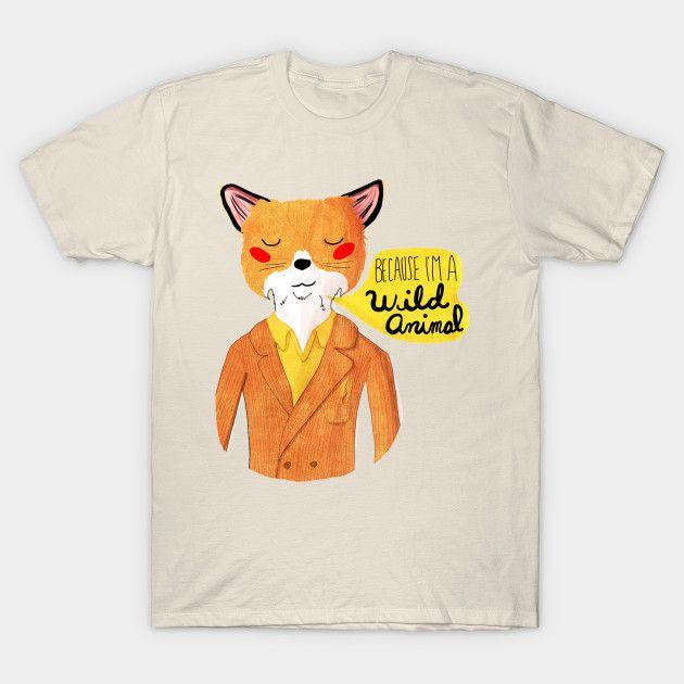 Animali Fox T-shirt SyTPvn