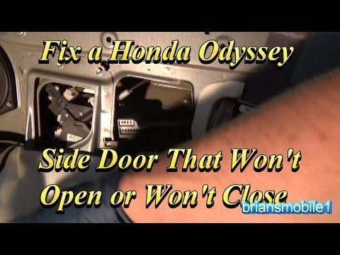 Fix A Honda Odyssey Side Door That Won T Close Or Open